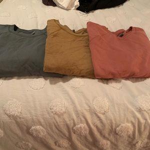 3 Aerie sweatshirts